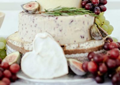 artisinal cheeses at chef joes catering